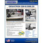 """GW-28BL30 30"""" Heavy Duty Long Arm Walking Foot 2"""