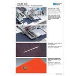 DURKOPP ADLER 745-35-S Pocket Welt