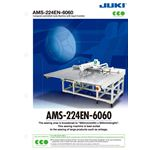 JUKI AMS-224EN-6060 Industrial Computer Controlled Cycle Machine