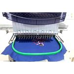 1501 Single Head Embroidery Machine, 15 Colors 4