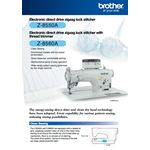 Brother Z-8550A Electronic Direct Drive Zig Zag Lock Sewing Machine