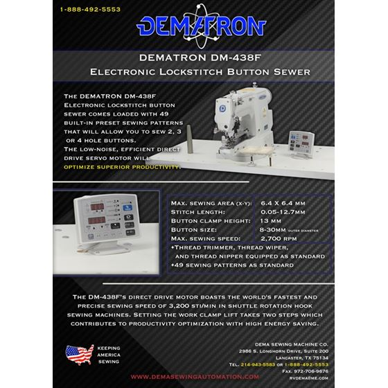 Electronic Lockstitch Button Sewing Machine 2