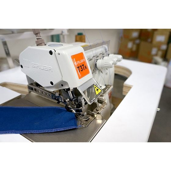 737K Three Thread Industrial Serger 4