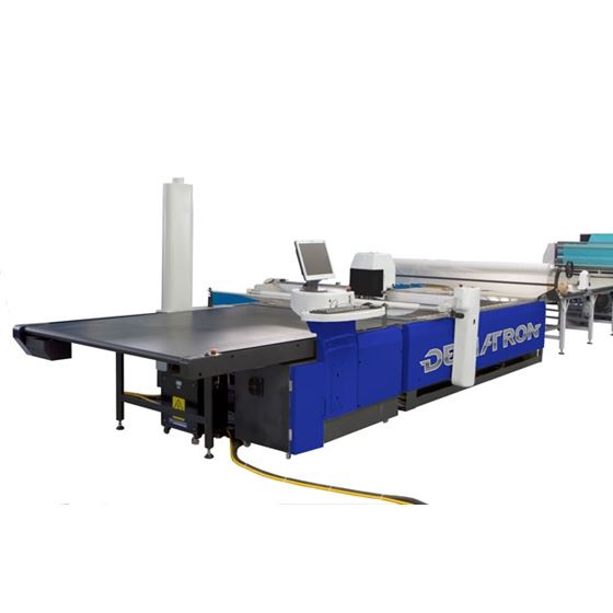 AUTOMATIC FABRIC CUTTING MACHINE GERBER USED