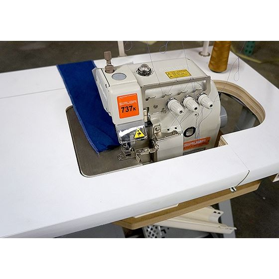 737K Three Thread Industrial Serger 2