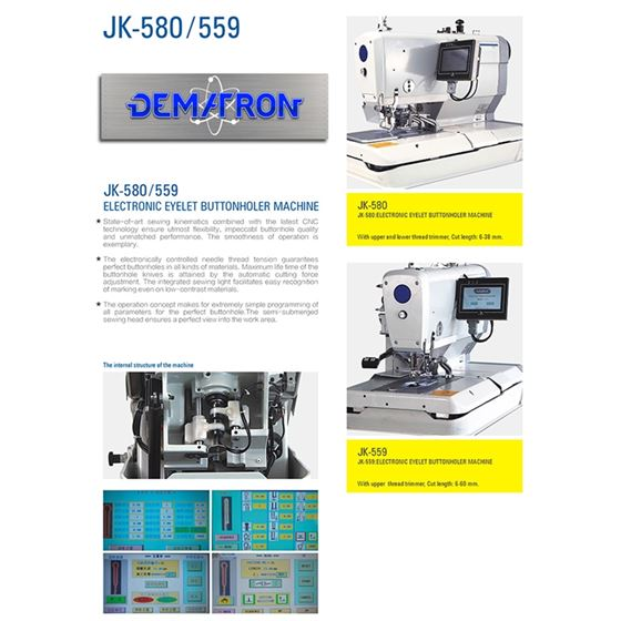 JK-559 Electronic Keyhole Eyelet Button Hole 4