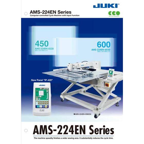 JUKI AMS-224EN-4530 Programmable Pattern Sewing Machine