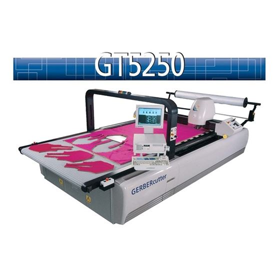 GT5250 Automatic Cutter Automatic Fabric Cutting 2