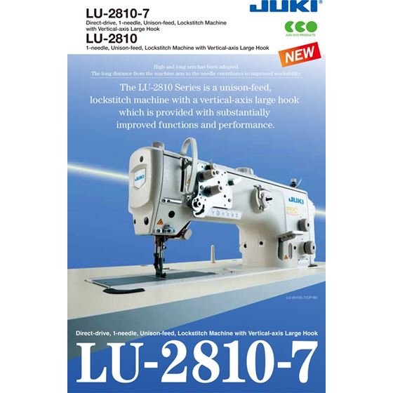 LU-2810A-7 Europe Gauge Direct-drive, 1-needle 2