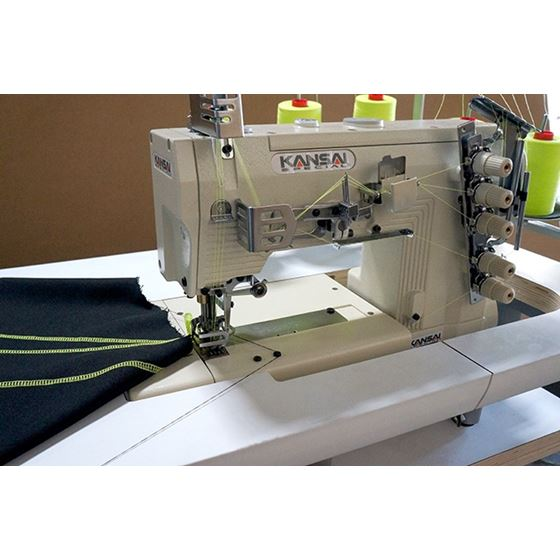 KANSAI SPECIAL WX-8803D Three Needle Top and Bottom Coverstitch Sewing Machine
