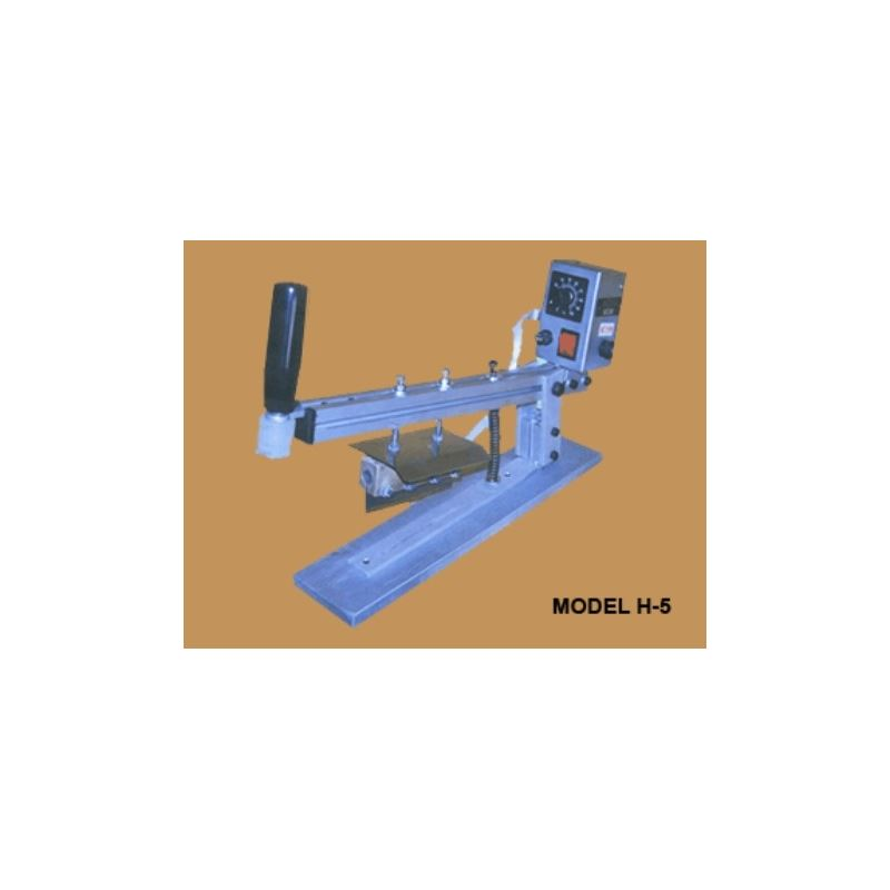 H-5 Manual Production Hot Cutter Machine