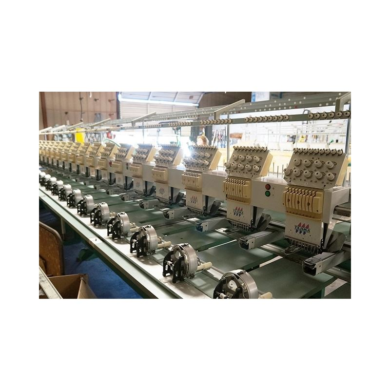 TME-DC918 MULTIHEAD AUTOMATIC EMBROIDERY MACHINE