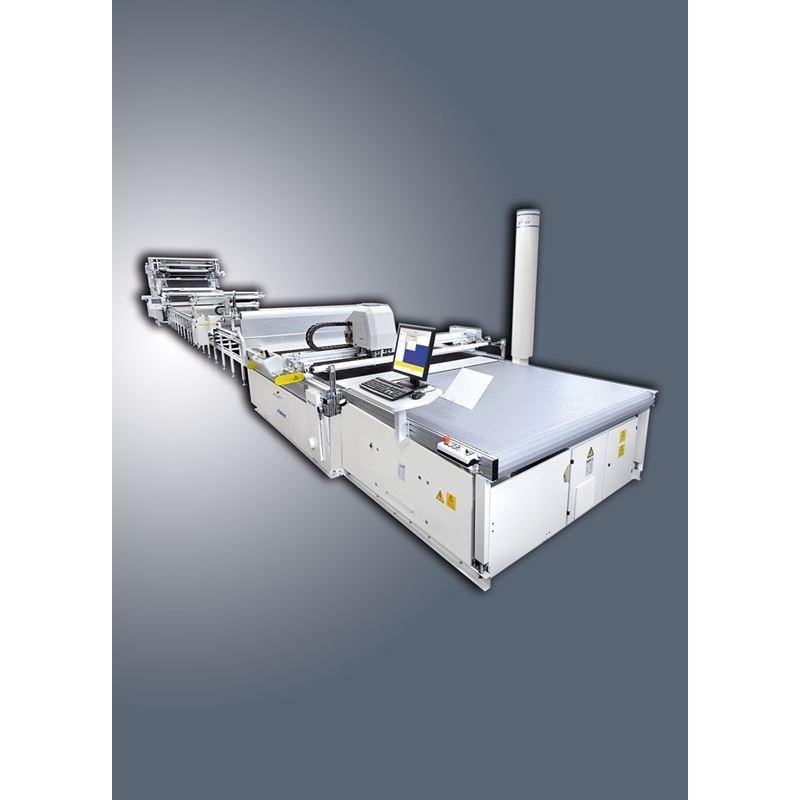 BULLMER TURBOCUT CNC FABRIC CUTTER