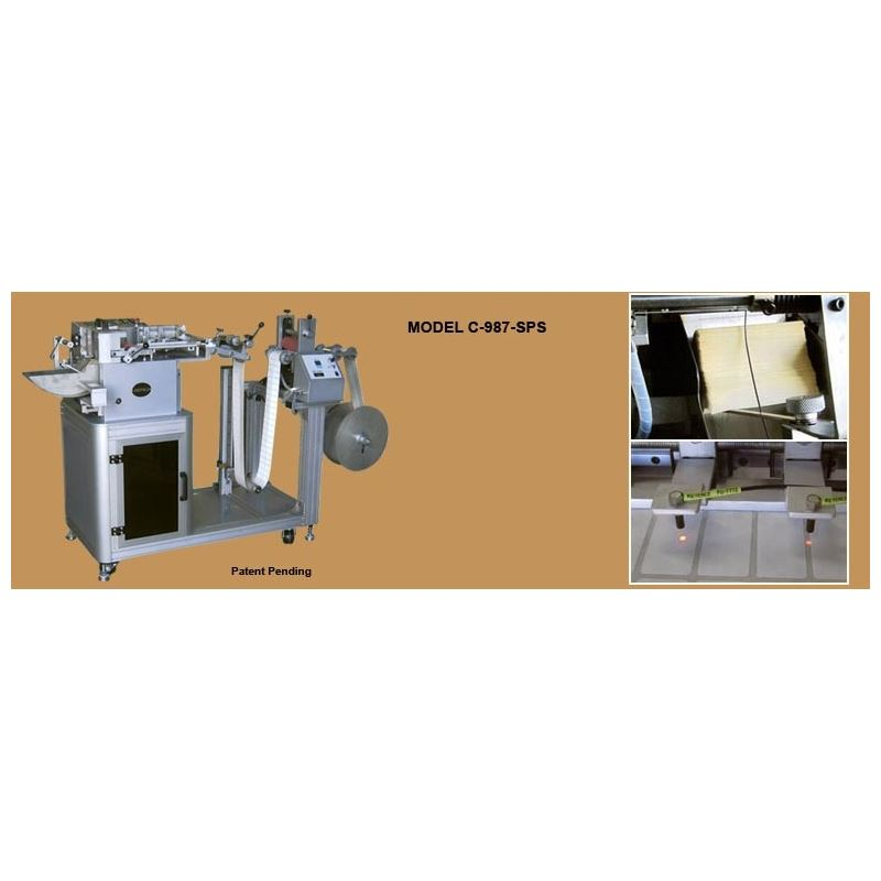 C-987-SPS Automatic Label Cutting Machines