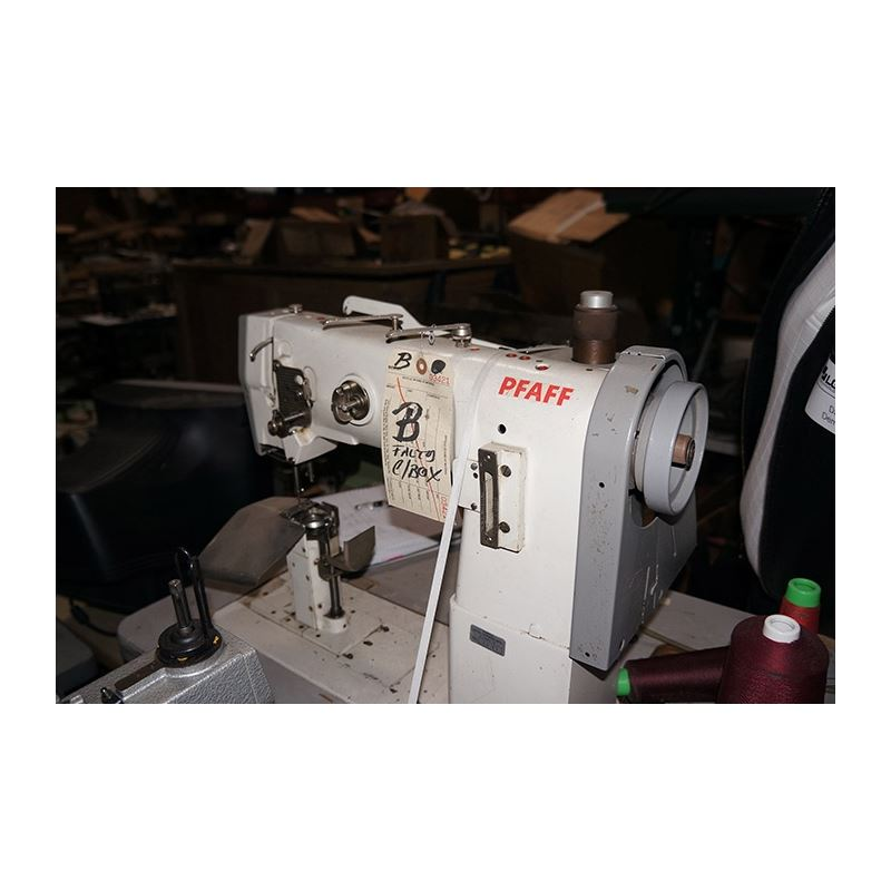 1291-1 AUTOMATIC POST BED NEEDLE FEED SEWING MACHI